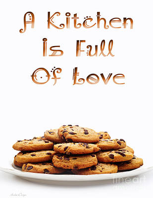 Digital Art - A Kitchen Is Full Of Love 6 by Andee Design