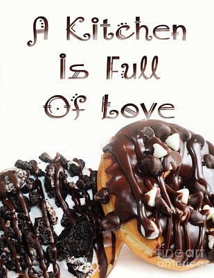 Digital Art - A Kitchen Is Full Of Love 7 by Andee Design