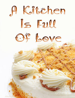 Digital Art - A Kitchen Is Full Of Love 8 by Andee Design