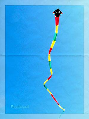 Photograph - A Kite by Jamie Johnson