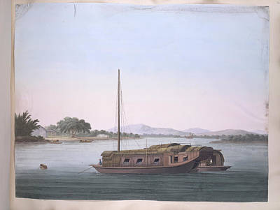 Illustration Technique Photograph - A Large Boat by British Library
