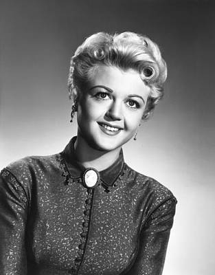 Lansbury Photograph - A Lawless Street, Angela Lansbury, 1955 by Everett