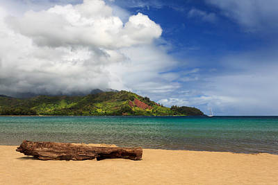 Photograph - A Lazy Day In Hanalei by James Eddy