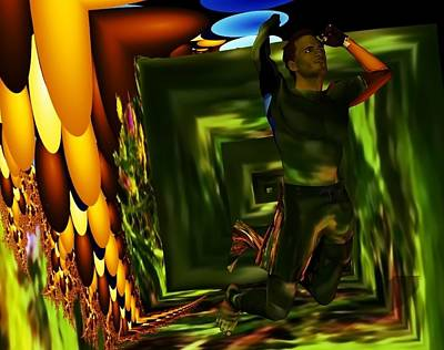 Digital Art - A Leap Of Joy by Nancy Pauling