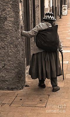 Spanish Shawl Photograph - A Life Of Hard Work by Al Bourassa