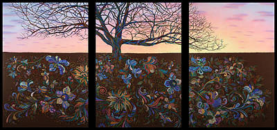 Root Painting - A Life's Journey by James W Johnson