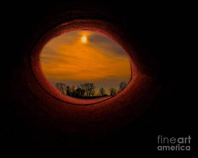 A Light At The End Of The Tunnel Art Print