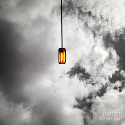 A Light That Never Goes Out Art Print by Claudia Newman