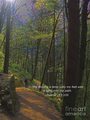 A Light Unto My Path Art Print by Charles Robinson