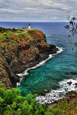 Photograph - A Lighthouse At The End Of A Trail by Scott Mead