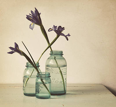Water Jars Photograph - A Little Bit Country by Amy Weiss