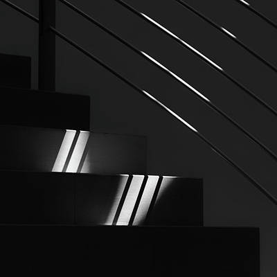 Abstract Lights Photograph - A Little Bit Of Light by Jeroen Van De