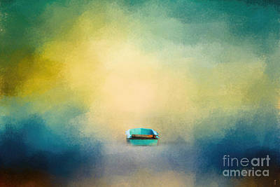 Photograph - A Little Blue Boat by Jai Johnson