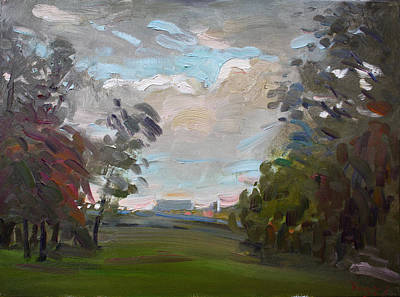 Storm Painting - A Little Break From The Rain by Ylli Haruni