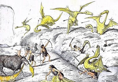 Dragon Drawing - A Little Covert Shooting by Reed, Edward Tennyson (1860-1933), British