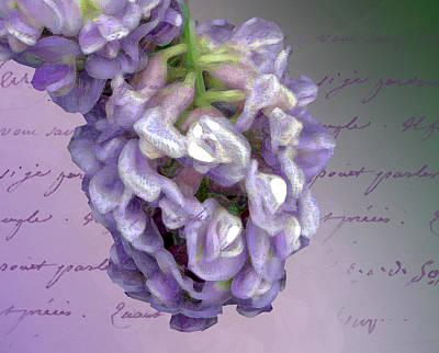 Photograph - A Little Lilac by Annie Slentz