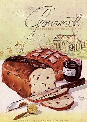 Photograph - A Loaf Of Raisin Bread by Henry Stahlhut
