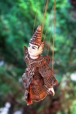 A Local Thai Puppet Art Print by Micah Wright