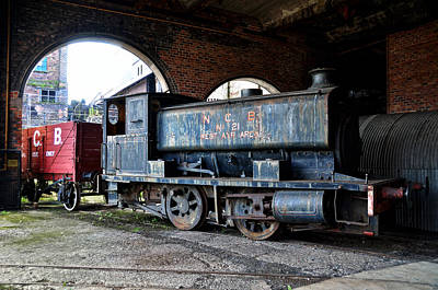 Photograph - A Locomotive At The Colliery by RicardMN Photography