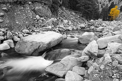 Photograph - A Long South St Vrain Canyon Autumn View Bwsc by James BO  Insogna