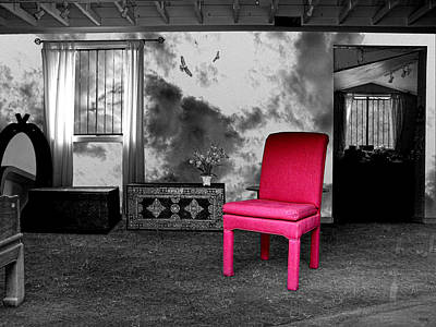 Selective Color Digital Art - A Look Inside by Glenn McCarthy Art and Photography