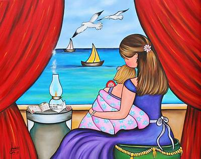 Painting - A Love Like No Other by Annie Maxwell