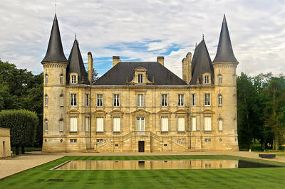 Photograph - A Lovely French Chateau by Mitchell R Grosky