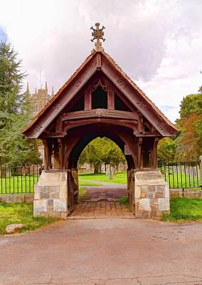 Photograph - A Lychgate by Paul Gulliver