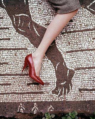 Photograph - High Heel On Roman Mosaic by Leombruno-Bodi