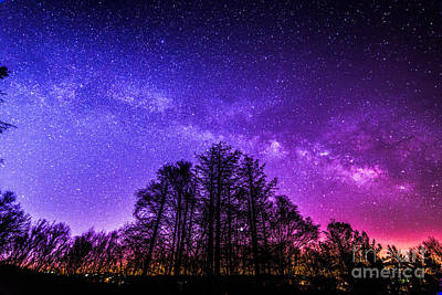 Moses Cone Photograph - A Majestic Night by Robert Loe