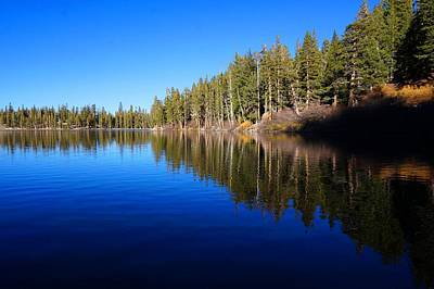 Photograph - A Mammoth Lake by Julia Ivanovna Willhite