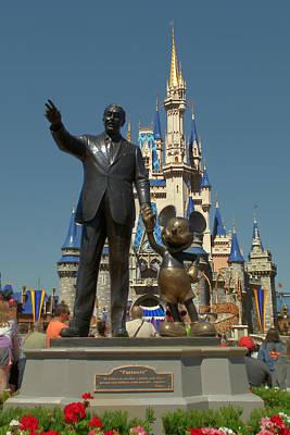 Walt Disney World Photograph - A Man A Mouse A Dream by Ryan Crane