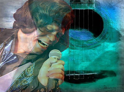 Photograph - A Man And His Music - James Brown Featured In 'abc Group' And Comfortable Art Group by Ericamaxine Price