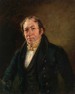 Bewick Painting - A Man Called Thomas Bewick , Unknown Artist by Litz Collection
