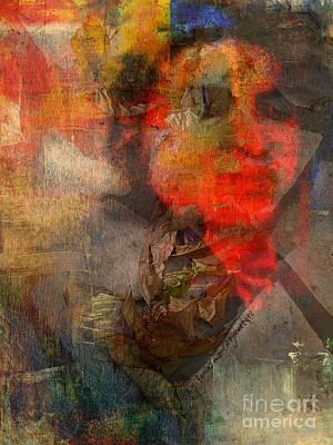 Yesayah Mixed Media - A Man  by Fania Simon