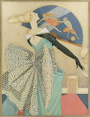 Centaur Digital Art - A Man Kissing A Woman's Hand by George Wolfe Plank