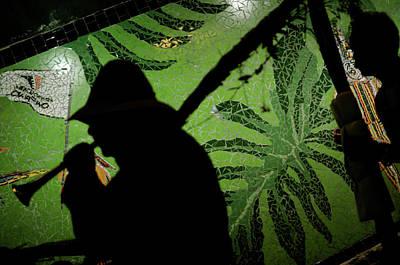 Semana Santa Wall Art - Photograph - A Man Plays His Trumpet During A Palm by Meridith Kohut