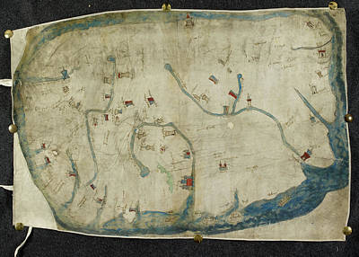 Cartography Photograph - A Map Of Ireland by British Library