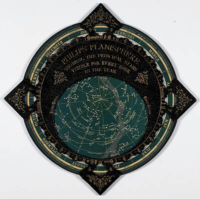 Astronomical Object Photograph - A Map Of The Stars by British Library