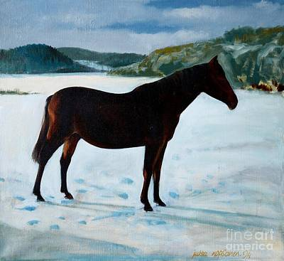 Painting - A Mare by Jukka Nopsanen