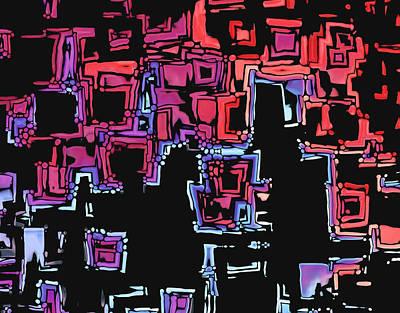 Maze Digital Art - A Maze Zing - 01c07a by Variance Collections