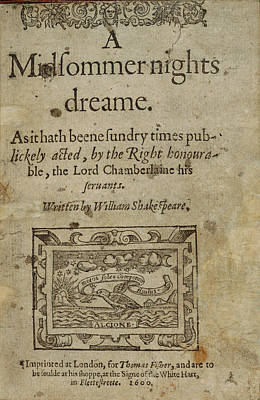 A Midsummer Night's Dream Print by British Library
