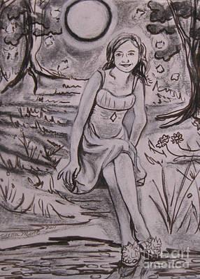 Drawing - A Midsummer Night's Dream Play by Stella Sherman