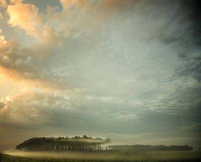 French Countryside Photograph - A Mist Story by Irene Suchocki