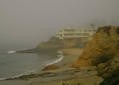 Photograph - A Misty Morning At Laguna Beach by Kirsten Giving