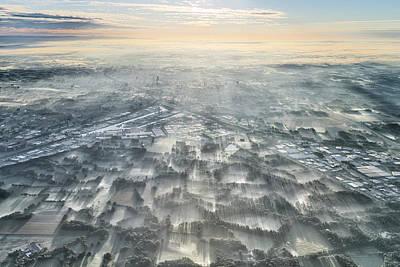 Netherlands Wall Art - Photograph - A Misty Morning by Kos Karathanasis