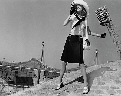 Full Skirt Photograph - A Model A Munich's Olympic City by Henry Clarke