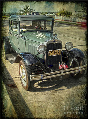 Photograph - A Model Ford by Gregory Dyer