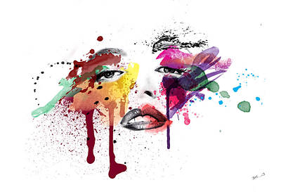 Ink Wall Art - Painting - A Moment Like This  by Mark Ashkenazi