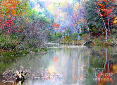 Photograph - A Monet Autumn by Mariarosa Rockefeller